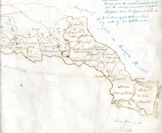 Map Gafaelion Cororion