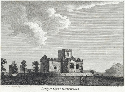llandega church 1726