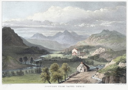 Royal Capel Curig 1840