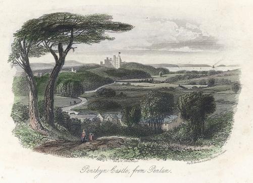 Castell penrhyn o Penylan 1840