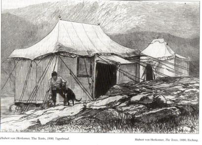 Pebyll 1880 yng Nghwm Idwal