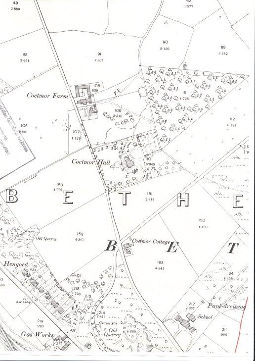Coetmor 1900